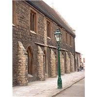 Greyfriars, built in the High Medieval Era, is the earliest surviving building in the Character Area