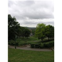 From the top of Temple Gardens there are extensive views over the gardens themselves and beyond to the south escarpment and rural areas within the lower Witham valley.