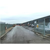 Industrial units off Whisby Road